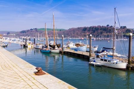 jamones: El río Dart en el Dartmouth Inglaterra, Reino Unido