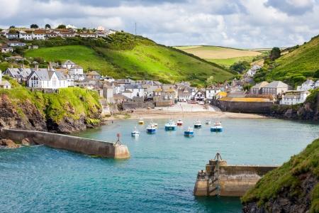 vissersdorp Port Isaac, op de Noord-kust van Cornwall, England VK