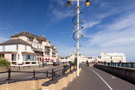west sussex: The seafront at the popular destination of Bognor Regis West Sussex England UK