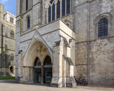 west sussex: Cathedral Church of the Holy Trinity at Chichester  Chichester Cathedral , West Sussex England UK