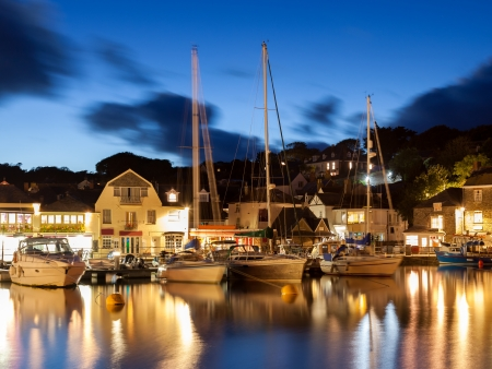 Padstow Harbour at Dusk, Cornwall England UK