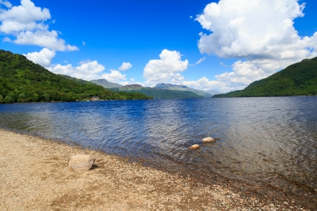 Firkin Point at Loch Lomond in The Trossachs National Park Scotalnd UK Stock Photo - 20704896