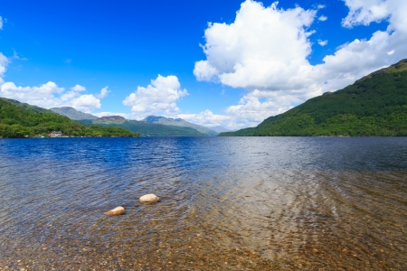 Firkin Point at Loch Lomond in The Trossachs National Park Scotalnd UK Stock Photo - 20704895