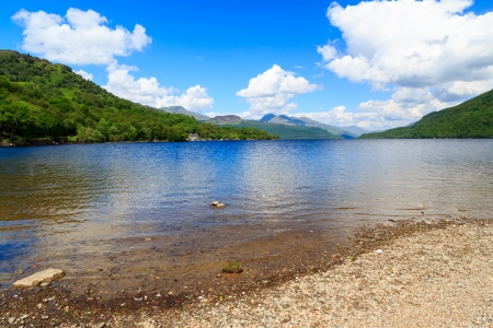 Firkin Point at Loch Lomond in The Trossachs National Park Scotalnd UK Stock Photo - 20704894