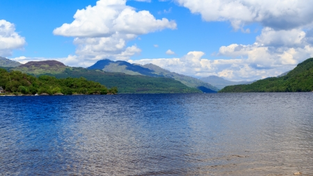 Firkin Point at Loch Lomond in The Trossachs National Park Scotalnd UK Stock Photo - 20704890