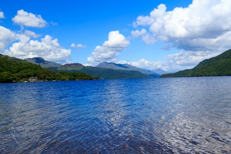 Firkin Point at Loch Lomond in The Trossachs National Park Scotalnd UK Stock Photo - 20704886