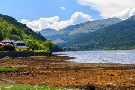 Stunning scenery at Loch Long Argyll and Bute Scotland Stock Photo - 20704899