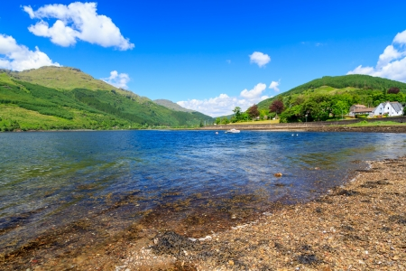 Stunning scenery at Loch Long Argyll and Bute Scotland Stock Photo - 20704909