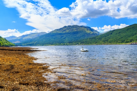 Stunning scenery at Loch Long Argyll and Bute Scotland Stock Photo - 20704910