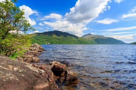 Summers day at Inveruglas on Loch Lomond Scotland UK Stock Photo - 20704920