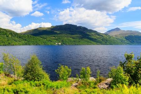 Summers day at Inveruglas on Loch Lomond Scotland UK Stock Photo - 20704917