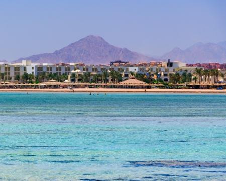 el sheikh: Red Sea coastline at Sharm El Sheikh Egypt Editorial