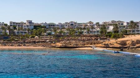 el sheikh: Coastline near Sharm El Sheikh Egypt