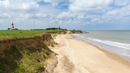 Happisburgh Beach North Norfolk England UK Europe