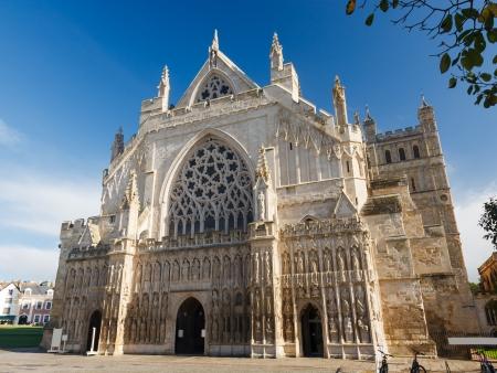 壮大なゴシック スタイル Exeter デボン イギリスの大聖堂