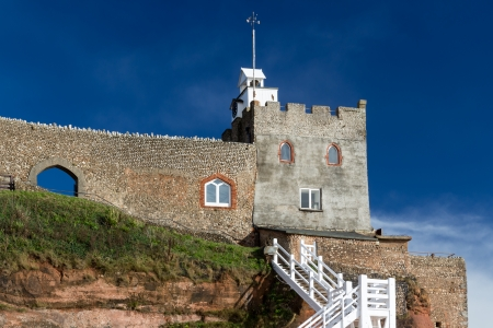 Connaught Gardens and Jacob's Ladder at Sidmouth Devon England UK Europe photo