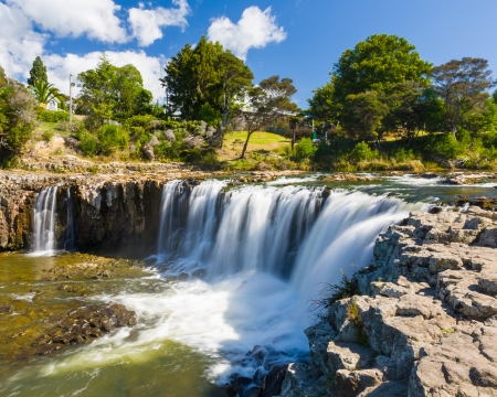 Haruru Falls at Paihia, Northland, North Island of New Zealand
