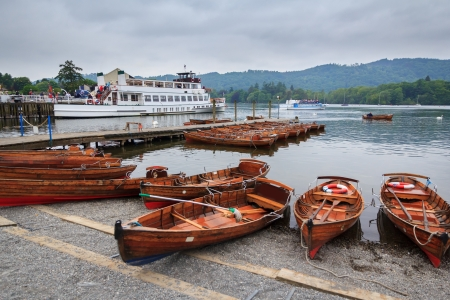 Lake Windermere in the English Lake District UK Europe Stock Photo - 24854284