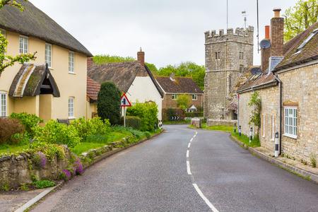 The village of West Stafford Dorset England UK Europe Stock Photo