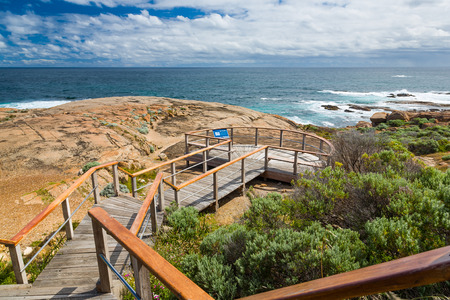 augusta: Viewing platform at Cape Leeuwin Lighthouse Augusta Western Australia wa