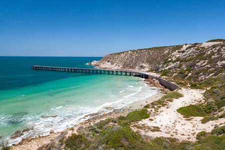 yorke: Stenhouse Bay, Innes National Park, Yorke Peninsula, South Australia Stock Photo