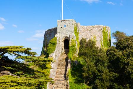 siervo: Castillo de Carisbrooke en la isla de Wight Inglaterra Reino Unido Europa