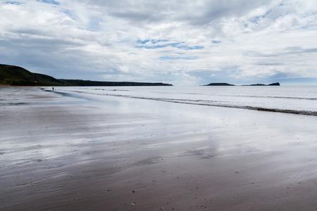 burrows: Llangennith Beach Gower Wales UK Europe