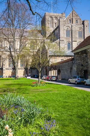 winchester: Winchester Cathedral Inghilterra Regno Unito Europa