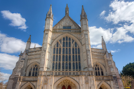 winchester: Winchester Cathedral England UK Europe