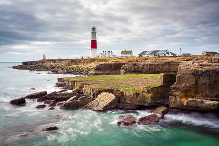 dorset: Portland Bill Lighthouse  on the Isle Of Portland Dorset England UK Europe