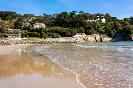 jamones: Playa Norte Sands en Salcombe en el distrito de South Hams de Devon sur de Devon Inglaterra Reino Unido Europa