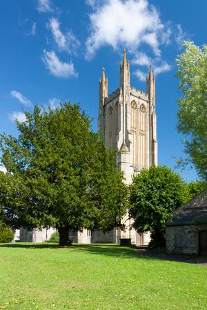 wells: The Parish Church of St Cuthbert Wells Somerset England UK Europe
