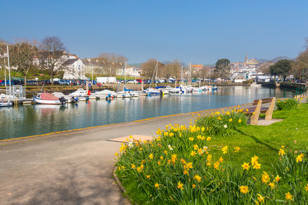 quayside: Quayside at Kingsbridge Devon England UK Europe