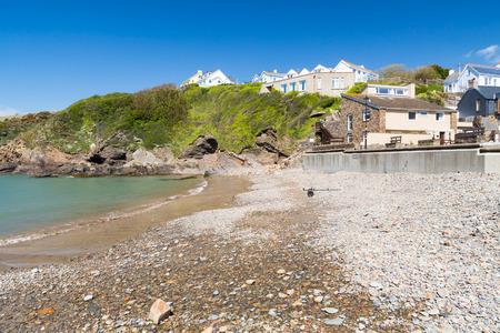 pembrokeshire: Little Haven a  quaint  fishing village in the Pembrokeshire Coast National Park Wales UK
