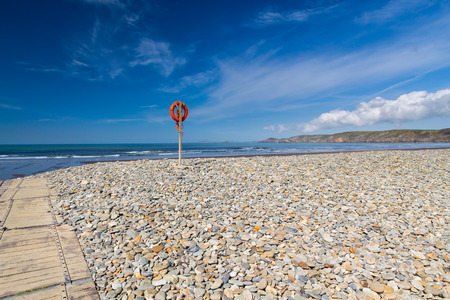 pembrokeshire: The beautiful Newgale Beach Pembrokeshire Wales UK