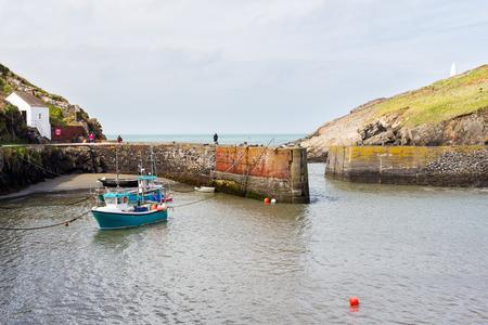 pembrokeshire: Porthgain Harbour Pembrokeshire Wales UK Europe Editorial
