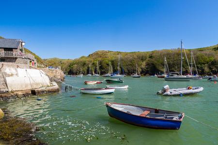 pembrokeshire: Solva in St Brides Bay in Pembrokeshire Coast National Park Wales UK Europe