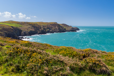pembrokeshire: Views from Strumble Head north Pembrokeshire, Wales