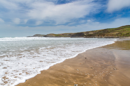 pembrokeshire: Whitesands beach Pembrokeshire Wales UK Europe Stock Photo