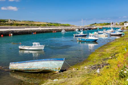 boast: Il porto storico a Hayle sulla costa settentrionale della Cornovaglia Inghilterra Regno Unito in Europa