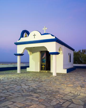 dodecanese: Chapel of the Twelve Holy Apostles (St Apostoli) Faliraki Greece Dodecanese Islands Rhodes Europe Stock Photo