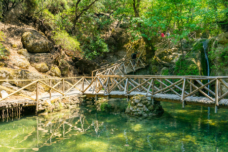 The Valley of the Butterflies (Peta Loudhes) Rhodes Greece Europe Stok Fotoğraf