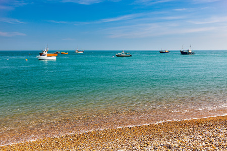 shingle beach: The shingle beach at Selsey Bill West Sussex England UK Europe