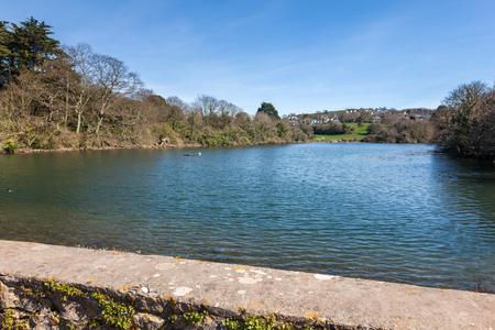Radford Lake Plymstock Plymouth Devon England UK