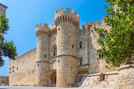 The Palace of the Grand Master of the Knights of Rhodes, Greece Europe Stock fotó - 84657765