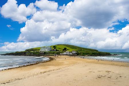 Burgh Island from  Bigbury-On-Sea South Hams Devon England UK Europe