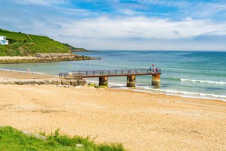 The beach at Bowleaze Cove near WeymouthDorset England UK Europe