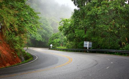 carretera: Carretera Foto de archivo