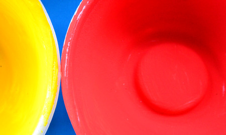 primary colours: Cup