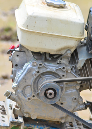 agriculture machinery: Motor Stock Photo